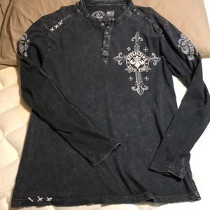 AFFLICTION LIVE FAST DIE YOUNG SHIRT